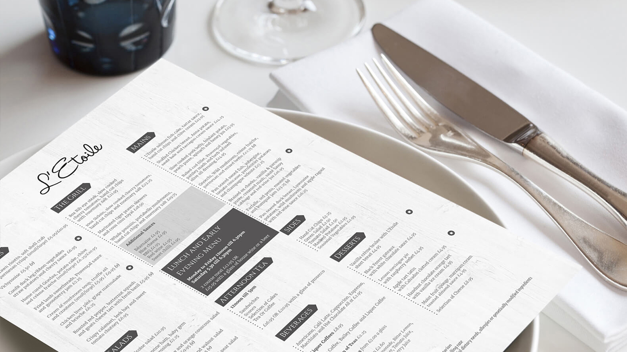 menu-printing-manchester